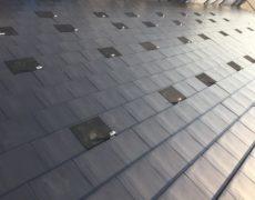 本日は京セラのソーラー金具取り付け工事でした