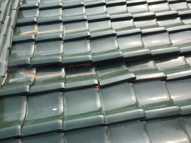 雨漏りの為葺き替え工事2