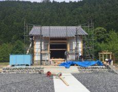神社新築工事